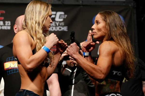 liz carmouche out gina mazany in at ufc halifax