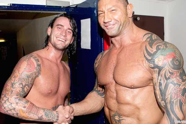 """Batista Says CM Punk Is """"Going To Be Bigger In Films Than He Was In Wrestling"""""""