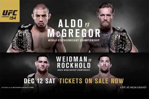 UFC 194 Results