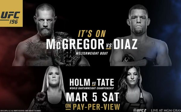 UFC 196 Results