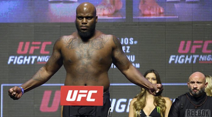 Derrick Lewis Weigh-in