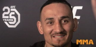 Max Holloway health