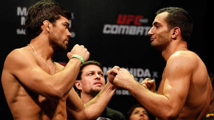 Lyoto Machida reacts Gegard Mousasi