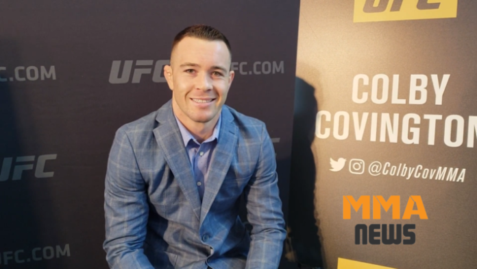 Colby Covington explains
