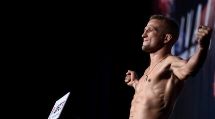 T.J. Dillashaw to UFC 227 Weigh-in Results