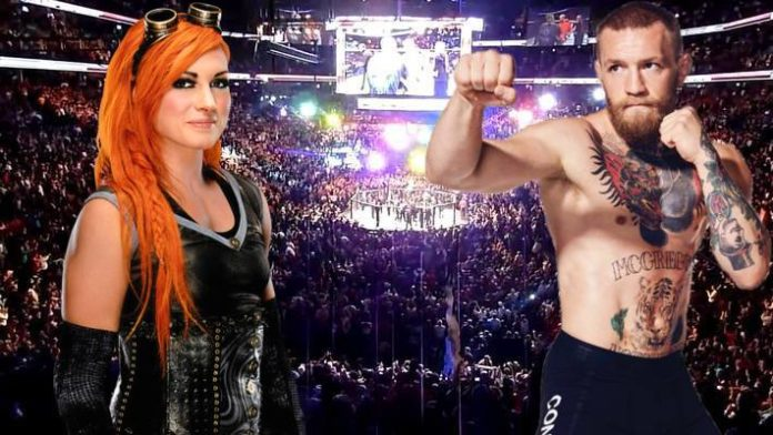Becky Lynch Conor McGregor