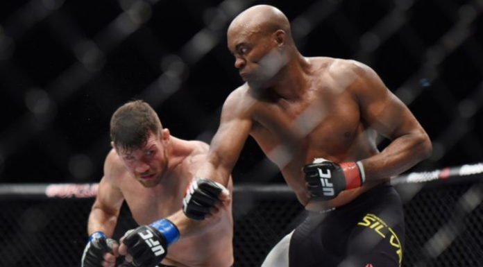 Michael Bisping Anderson Silva