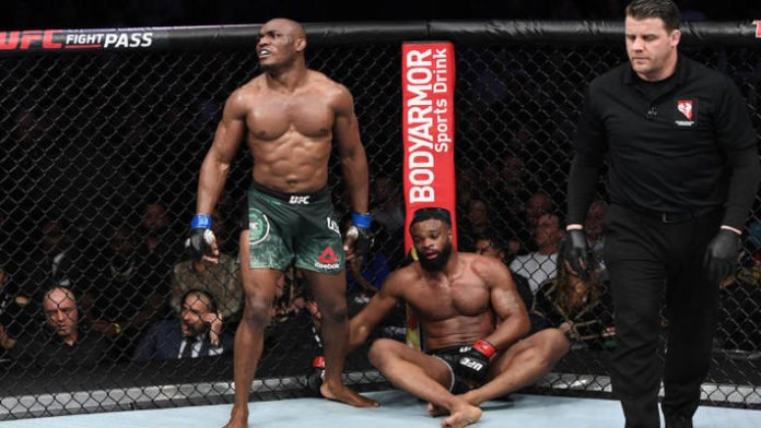 ef1886b322f8 Kamaru Usman Slams Ben Askren After Wrestling Match Loss To Jordan Burroughs