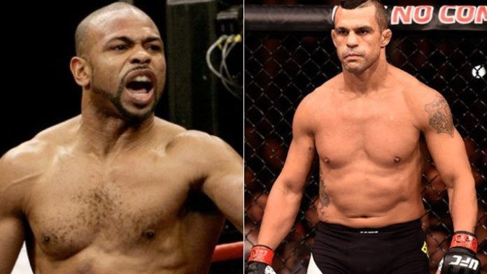 Roy Jones Jr. and Vitor Belfort