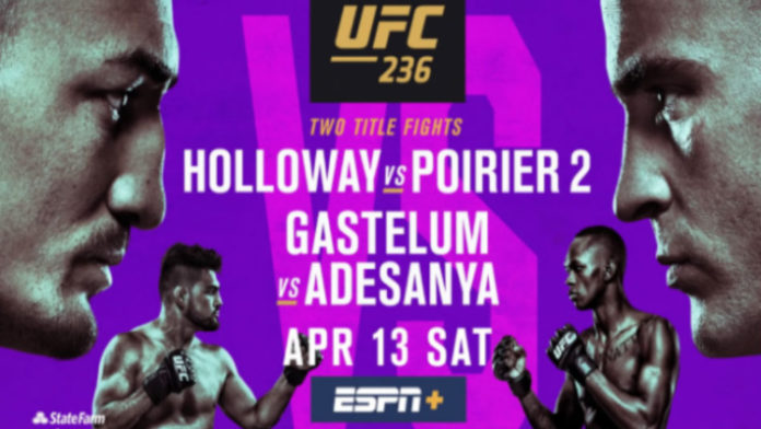 Image result for UFC 236: Holloway vs Poirier 2 Fight Live Streaming
