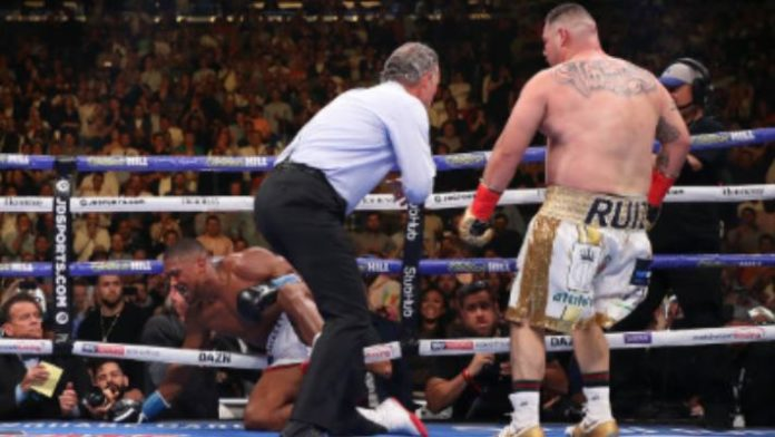 Anthony Joshua Andy Ruiz Jr.
