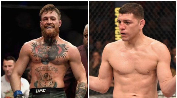 Conor McGregor Nick Diaz