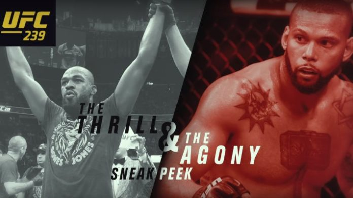 UFC 239 The Thrill and the Agony