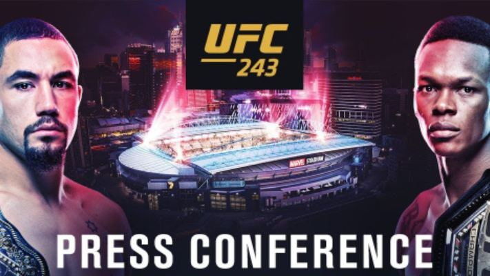 UFC 243 Press Conference Live Stream Tonight Aug 14