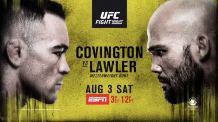 UFC Newark Results: Covington Decisions Lawler