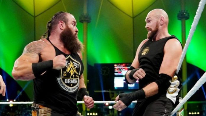 Image result for braun strowman and tyson fury