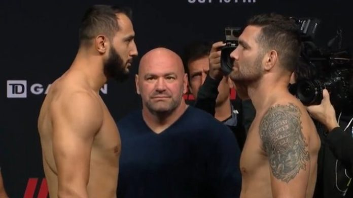 Dominick Reyes vs. Chris Weidman