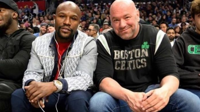 Ufc 2020 Events.Floyd Mayweather In Talks With Dana White Teases 2020 Event