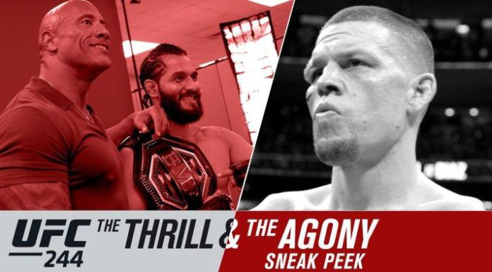 UFC 244 Thrill and the Agony