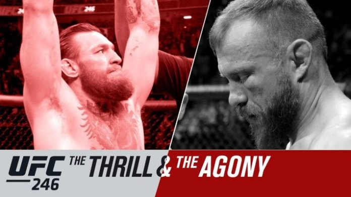 UFC 246 The Thrill & the Agony