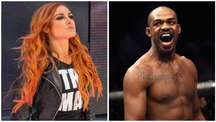 Becky Lynch Jon Jones