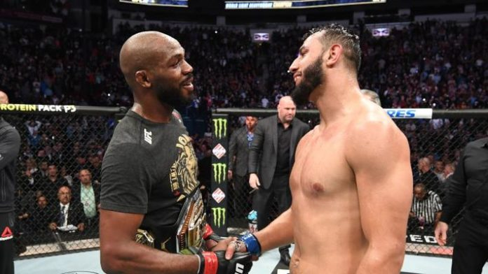 Jon Jones Dominick Reyes