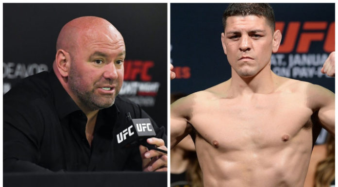 Dana White & Nick Diaz