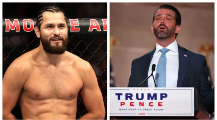 Jorge Masvidal & Donald Trump Jr.