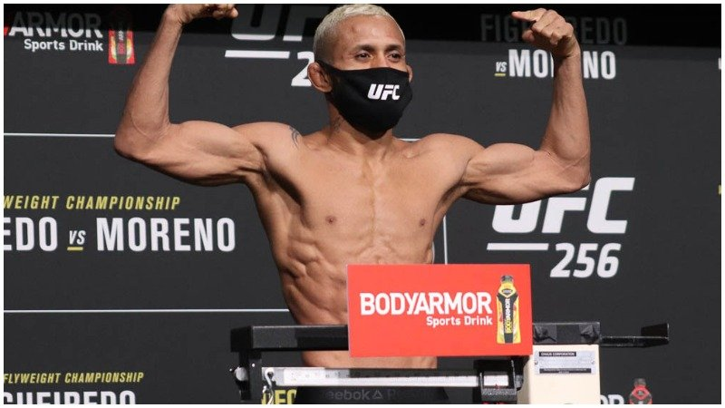 Ufc 256 Weigh In Results All Fighters Make Weight