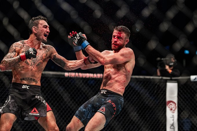 Fighters React To Max Holloway vs. Calvin Kattar At UFC on ABC 1