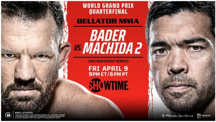 Watch Bellator 256 : Bader vs Machida 2 4/10/21