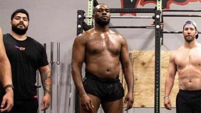 Jon Jones Provides Another Look Into His Transition To Heavyweight (Video)